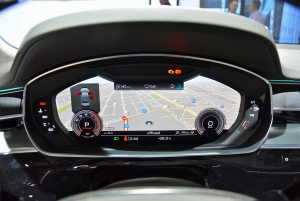 2018 Audi A8 instrument cluster