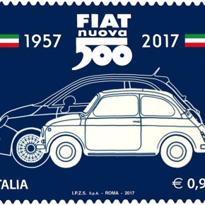 News: Fiat 500 gets commemorative stamp for its 60th birthday