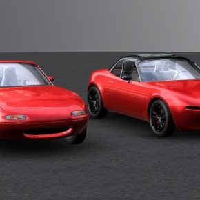 Mazda's fourth-generation Miata almost went retro