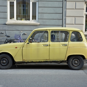 Driven daily: Renault 4 TL