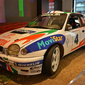 From the track: Toyota CorollaWRC