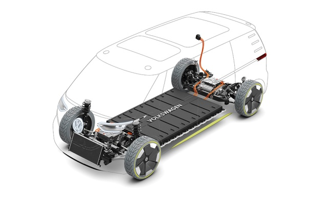 Volkswagen I.D. Buzz cutaway