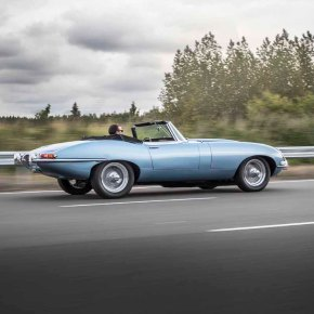 News: resto-modding goes green with Jaguar's E-Type Zero