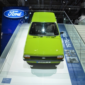 Live from the Frankfurt Auto Show: three generations of the Ford Fiesta