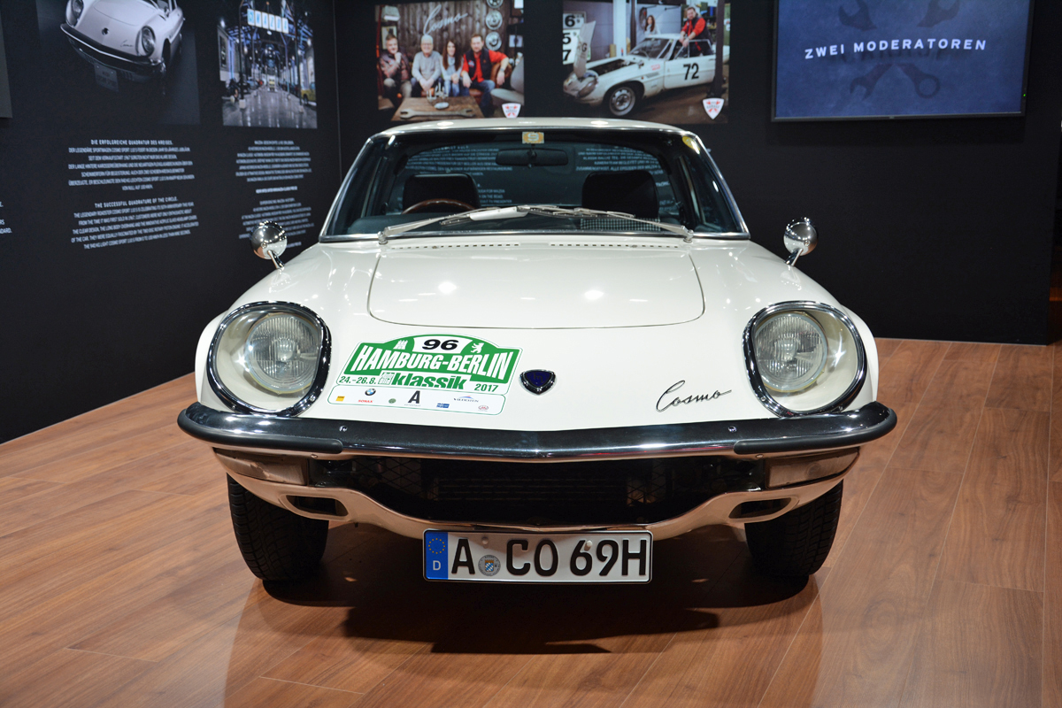 Live from the frankfurt auto show mazda cosmo