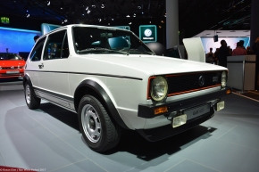 Live from the Frankfurt Auto Show: Volkswagen GTI (mk1)