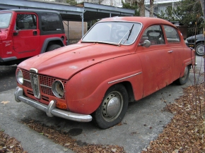 The ones that got away: Saab 96