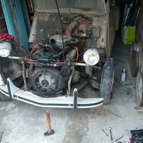 In our garage: Ran When Parked's 2CV gets a new lease on life