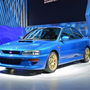 Live from the 2019 Detroit auto show: 1998 Subaru Impreza 22B-STi