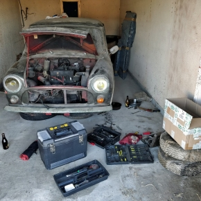 In our garage: 1972 Morris Mini 850