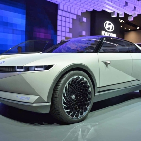 Hyundai goes retro with the Pony-inspired 45 concept